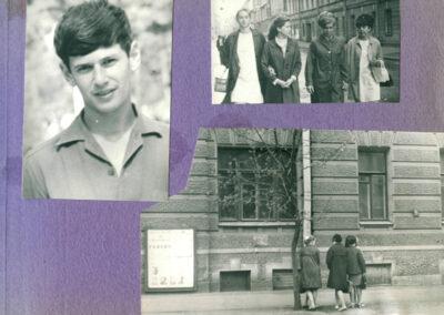 1969, Ленингад, 30-ая школа