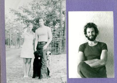 1975, наша с Таней первая собака - Джимма_ написана Лестница, пишется Первый Роман