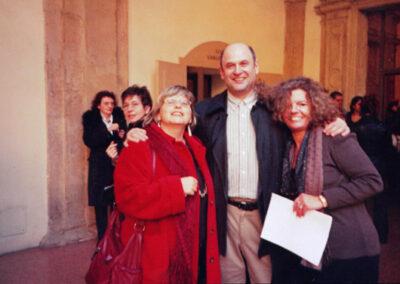 2004, на конференции в Болонии, слева Габриэлла Импозти, справа Донателла Поссамаи