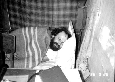 сентрябрь, 1986 Старый Крым, у Валеры Зеленского в Монплезире, © З. Коловский