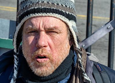Homeless зимой
